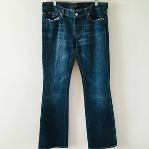 7 For All Mankind Flare Leg Jeans Size 32
